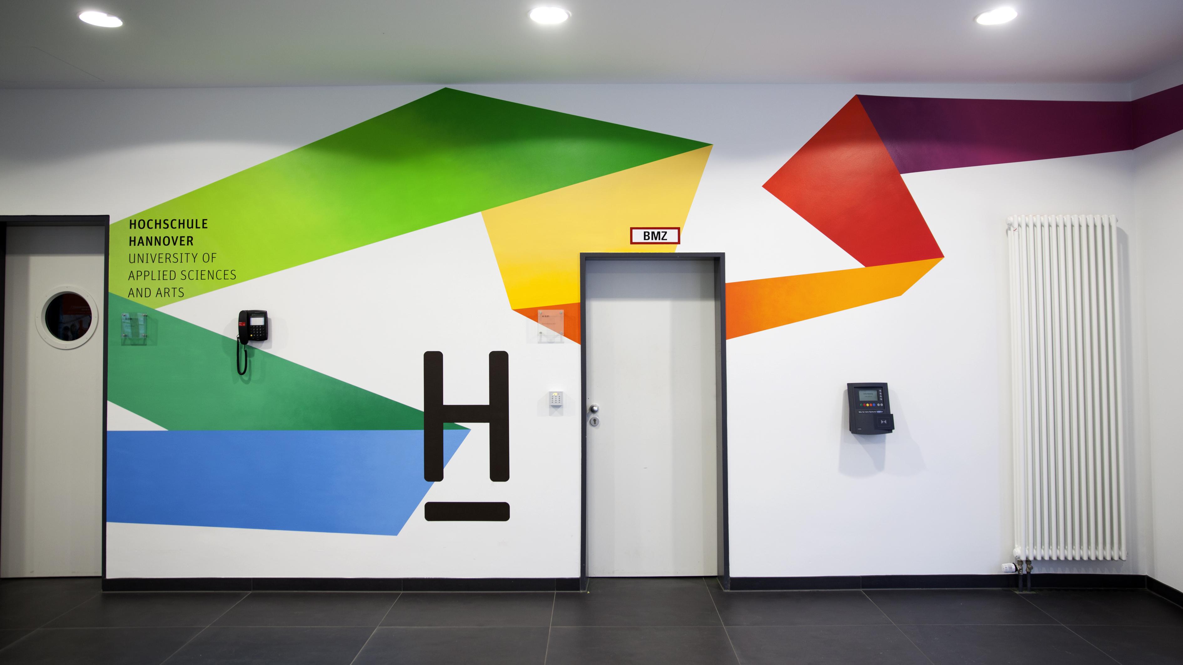 Hannover Graffiti Design Hochschule