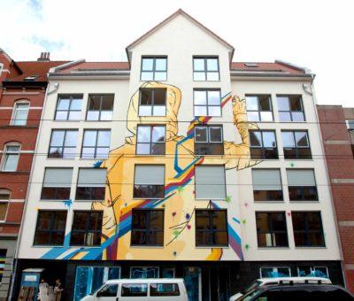 Graffiti Kunst Limmerstrasse