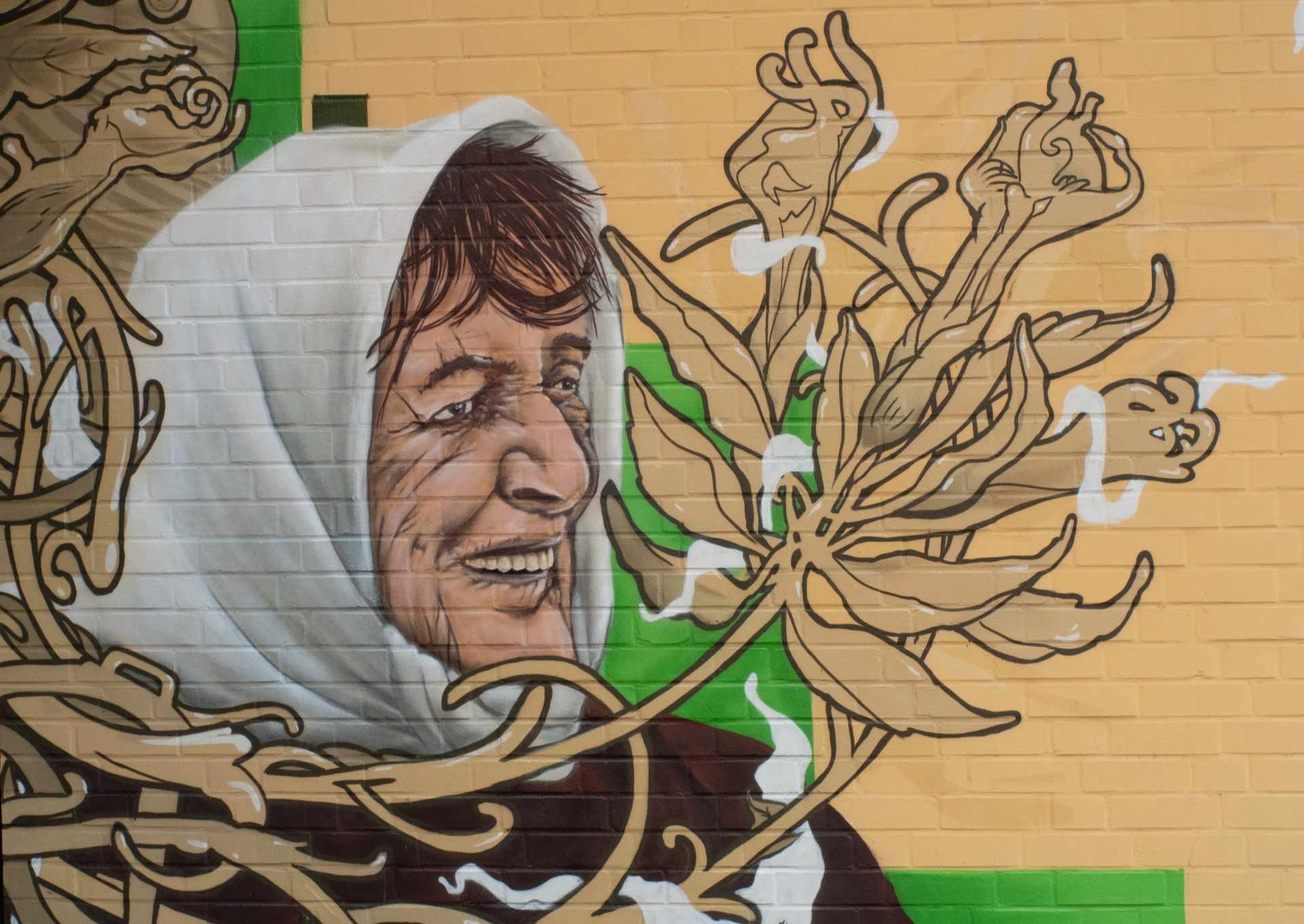 Hanova Graffiti Auftrag Hannover Senioren Unterkunft