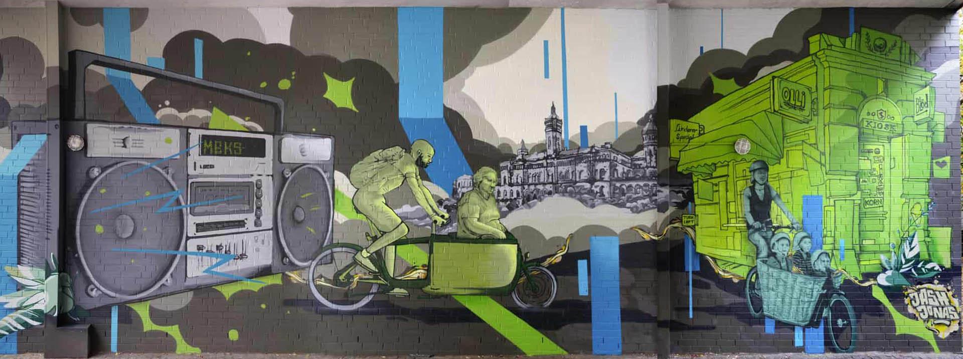 Boombox Hannover Graffiti