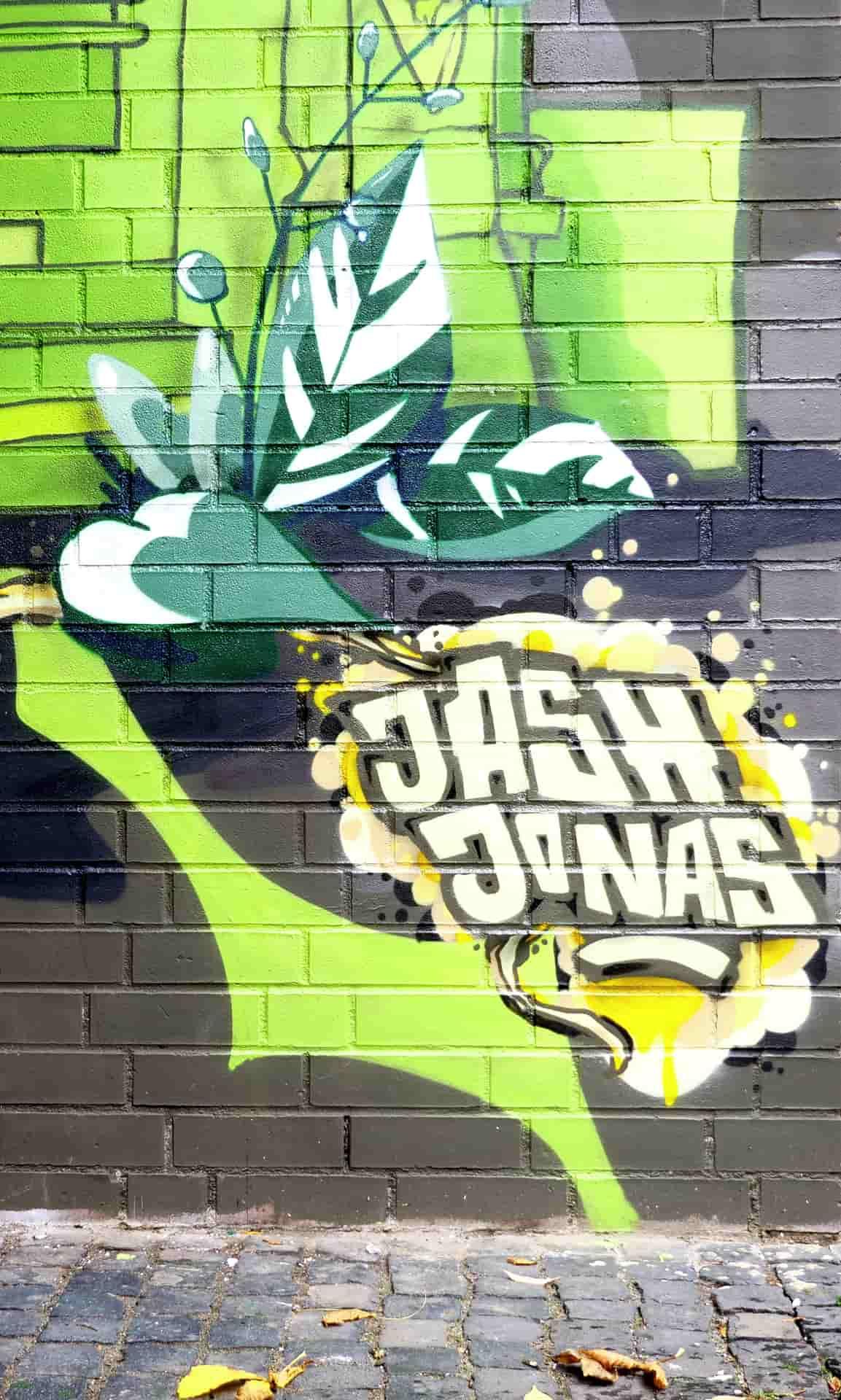 Jash und Jonas Graffiti Nordstadt Hannover