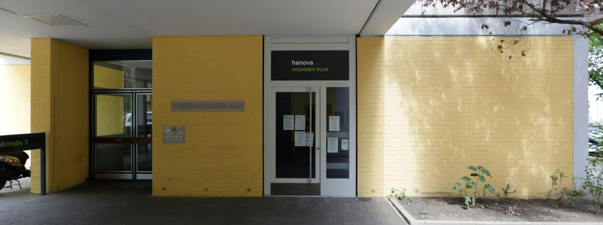 Werner Bumberg Haus ohne Grafftii