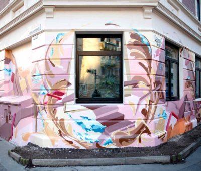 3D Graffiti Design in Hannover Linden