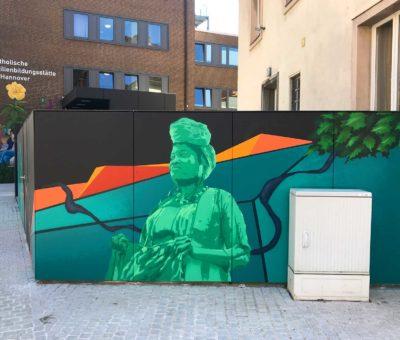 Graffiti Auftrag – FABI Goethestrasse