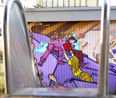 Graffiti Kunst – Südstadt Spielplatz