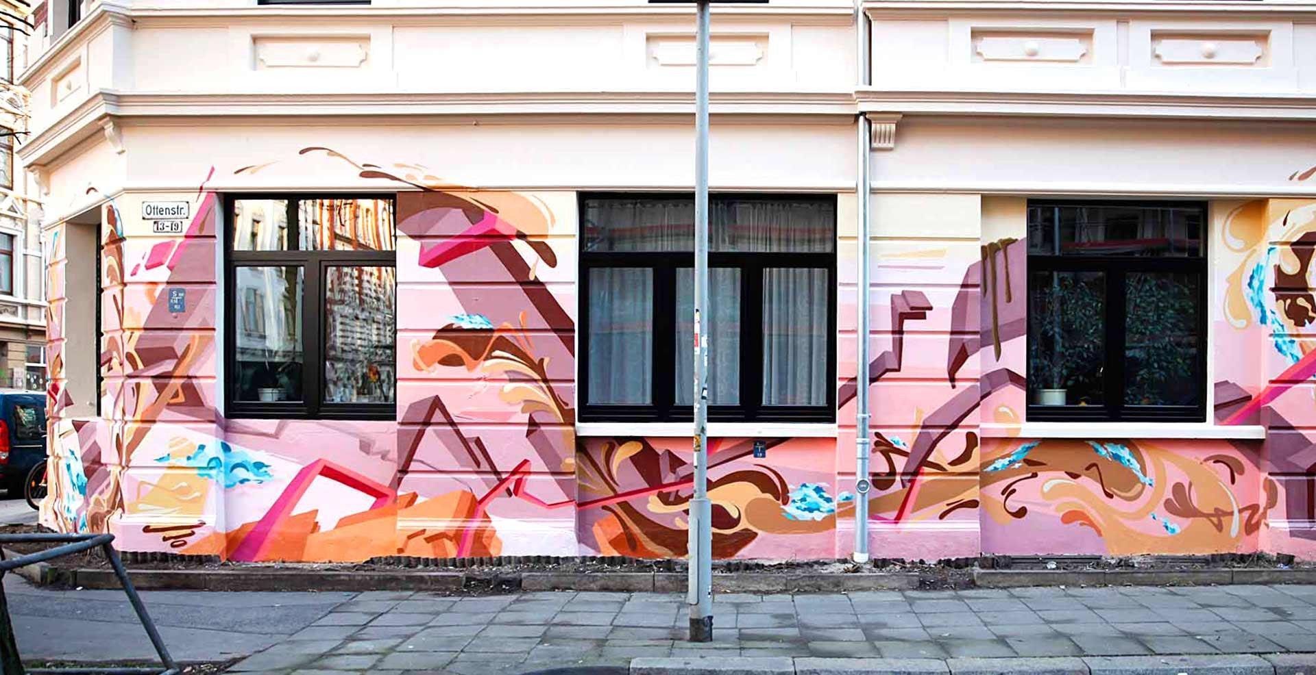 3D Graffiti Design in Linden